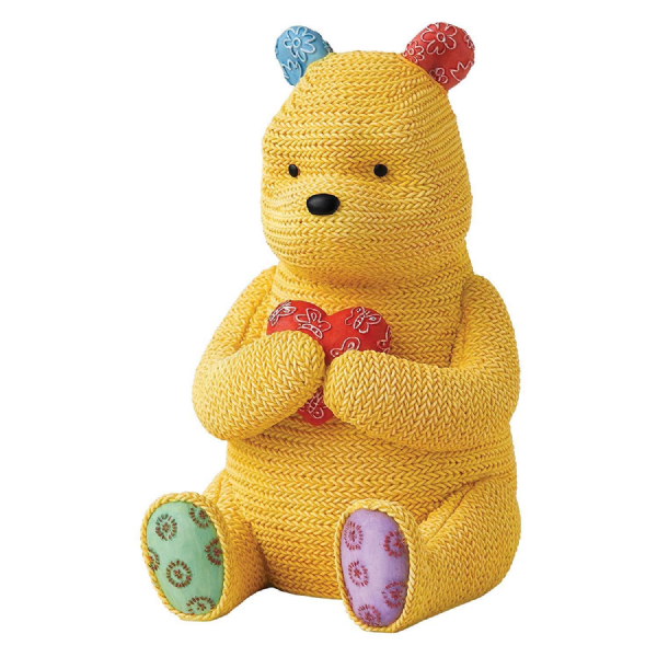 Winnie The Pooh ''Knitted'' Money Bank. A24519